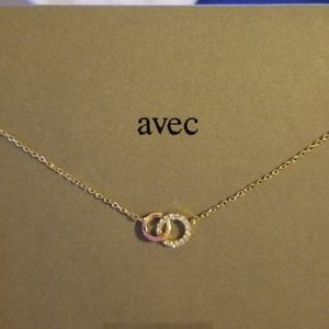 Gold Dainty Cubic Zirconia Necklace